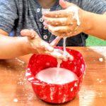 Ciecz nienewtonowska - nietypowe zabawy sensoryczne