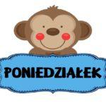 Dni tygodnia - plansze do wydruku w języku polskim i angielskim