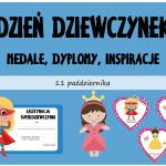 Dzień Dziewczynek w przedszkolu - medale, laurki i inne