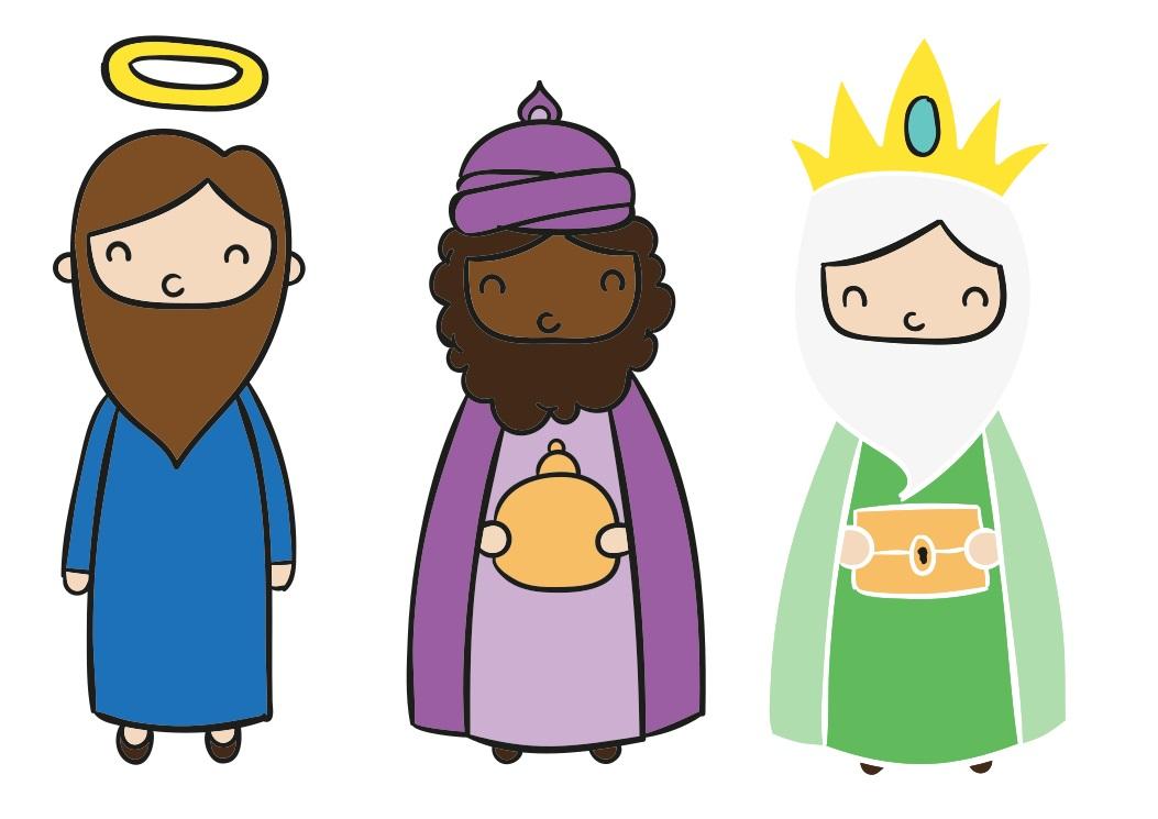 szopka bożonarodzeniowa - jozef-i-dwaj-krolowe