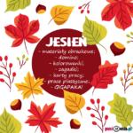 Jesień - karty pracy, domino, szablony i wiele więcej