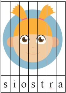 ja i moja rodzina - gigapaka przedszkolaka puzzle