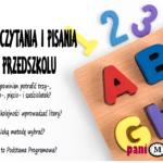 Nauka czytania i pisania w przedszkolu