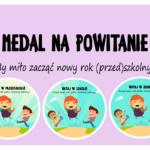 Medal na powitanie - szkoła, przedszkole i żłobek