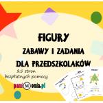Figury - zadania i zabawy dla przedszkolaków