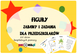 figury - zabawy i zadania dla przedszkolaków