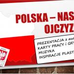 Polska - prezentacja, interaktywne gry i karty pracy