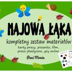 Majowa łąka - karty pracy, gry, film, piosenka