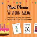 Urodziny Pani Moni - 50 kart pracy