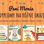 Dyplomy dla dzieci na różne okazje